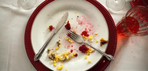 Thanksgiving food binge