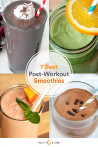 best post workout smoothies