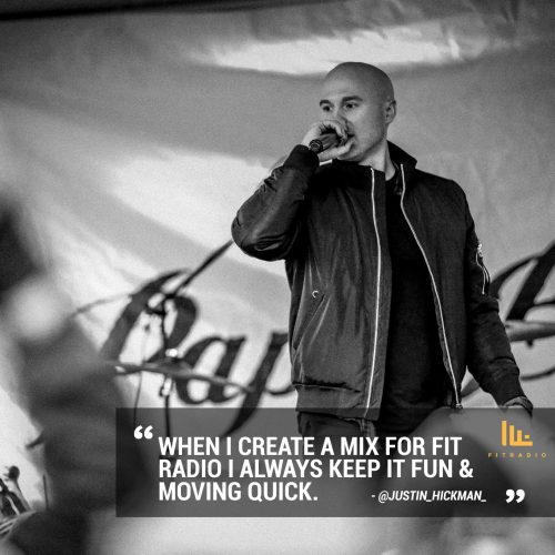 Fit Radio DJ Justin Hickman